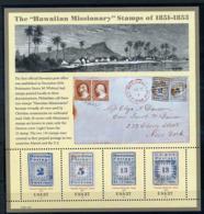 """Etats Unis ** Bloc N° 42 - Les Timbres """"Missionnaires De Hawî De 1851-1853 - Vereinigte Staaten"""