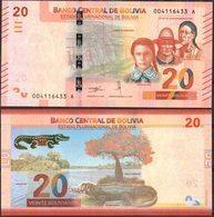 Bolivia 2018 Nueva Emision De Billetes: 20 Bolivianos. - Bolivië