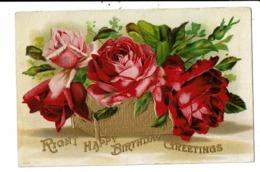 CPA-Carte Postale En Relief   -Angleterre - Right Happy Birthday Greetings 1909-VM8011 - Birthday