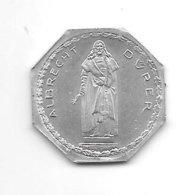 *notgeld  Nurnberg 20 Pf ND/o.j.   Alu Albrecht Durer  10406.2 - [ 2] 1871-1918: Deutsches Kaiserreich