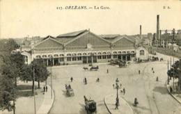 CPA - France - (45) Loiret - Orléans - La Gare - Orleans