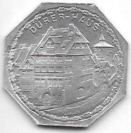 *notgeld  Nurnberg 20 Pf ND/o.j.   Alu  Durer Haus  10406.8 - [ 2] 1871-1918: Deutsches Kaiserreich