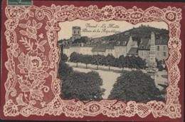 CPA Dentelle Vesoul La Motte Place De La République CAD 1910 YT 137 - Vesoul