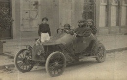 CARTE PHOTO BELLE VOITURE - Passenger Cars