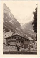 Suisse : BE - GRINDELWALD : Massif De La Jungfrau : - Chalet Avec Enfant - Format 12,5cm X 9cm - Lieux