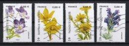 France 2019 : Timbres Yvert & Tellier N° 5321 - 5322 - 5323 Et 5324 Avec Oblit.mécaniques. - Oblitérés