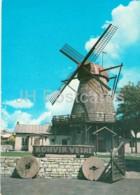 Windmill Cafe In Kuressaare - Kingissepa - Saaremaa - Postal Stationery - Circulated In Estonia 1979 - Estonia - Used - Estonie