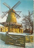 Windmill Cafe In Kuressaare - Kingissepa - Saaremaa - Circulated In Estonia 1980s - Estonia - Used - Estonie