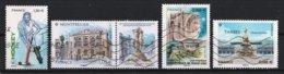 France 2019 : Timbres Yvert & Tellier N° 5329 - 5332 + Vignette - 5334 - 5335 - ???? Et ???? Avec Oblit.mécaniques. - Oblitérés
