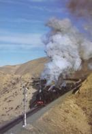 Train - Class Qianjin Locomotive At Jingpeng Pass Of Jitong Railway, Inner Mongolia, China - 18 - Trains