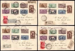 """Covers ) GIRI COLONIALI 1932   """"S. Antonio"""". Giro Coloniale Completo Di Cirenaica, Eritrea, Somalia E Tripolit - Vari"""