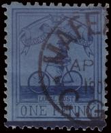 Used ) CAPO DI BUONA SPERANZA 1900   Assedio Di Mafeking. 1d. Azzurro Chiaro (pale Blue)      Used..........(SG - Sud Africa (...-1961)