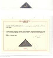 MH/Used ) CAPO DI BUONA SPERANZA 1853/1880 | Collezione Del Periodo Formata Da Esemplari Sciolti. Alcuni Certif - África Del Sur (...-1961)