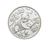 ) CINA  | Repubblica Popolare. | 10 Yuan 1992/Panda. KM 397. AG. PROOF. - China