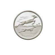 ) UMM AL-QUWAIN  | 5 Riyals 1970/Gazzelle. KM 3. AG. PROOF. - Münzen