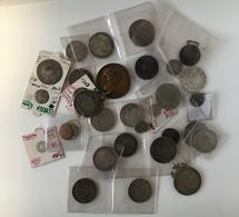 ) MONETE E MEDAGLIE  | Lotto Composto Da Oltre 30 Fra Monete E Medaglie Di Varie Epoche In Argento E Br - Münzen