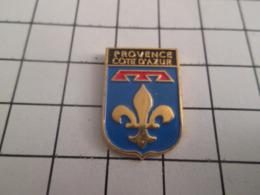 310b Pin's Pins : BEAU ET RARE : Thème AUTRES / BLASON ECUSSON ARMOIRIES PROVENCE COTE D'AZUR - Andere