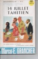 Mâchonville N°2 Par Marcel E. Grancher Jura 14 Juillet Tahitien Périodique Gaité Française Illustration Roger Sam 1955 - Bücher, Zeitschriften, Comics