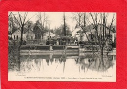 LA BANLIEUE PARISIENNE  INONDEE ( Janvier 1910 )   - SAINT - MAUR Le Petit Pont De La Ruepinet           75 - Inondations De 1910
