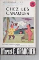Mâchonville N°3 Par Marcel E. Grancher Jura Chez Les Canaques Périodique Gaité Française Illustration Roger Sam 1955 - Bücher, Zeitschriften, Comics