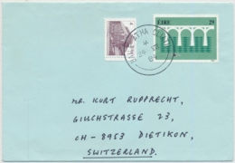 Irland - Europamarken 1984 Auf Luftpost Brief Gelaufen BAILE ARHA CLIATH - DIETIKON Schweiz - Europa-CEPT