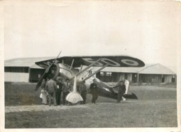 AVION MORANE SAULNIER MS 225 PHOTO ORIGINALE FORMAT 11.50 X 8.50 CM - Aviation