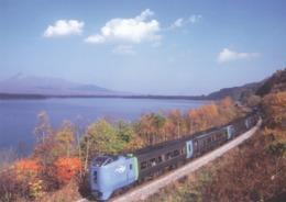 Japan - Kiha 281 Series Ltd Exp SUPER HOKUTO On The Way Between Onuma & Nanae Stations, Hakodate Main Line, Hokkaido - Trains