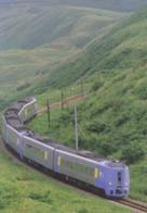 Japan - Kiha 261 Series Ltd Exp SUPER SOYA Between Minami-wakkanai & Bakkai Stations, Soya Main Line, Hokkaido - A - Trains