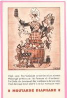 """Cpa PUB """" MOUTARDE DIAPHANE """" Illustration De Jacques LE TANNEUR - Bordelaise - Publicidad"""