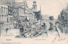 260685Utrecht, Oude Gracht Viebrug. (poststempel 1903) - Utrecht