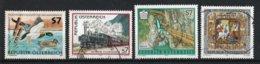 Autriche 2001 : Timbres Yvert & Tellier N° 2168 - 2169 - 2174 - 2175 - 2178 - 2181 Et 2182 Oblitérés. - 1945-.... 2ème République
