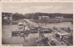 2606211Deventer, Geopende Schipbrug – 1915 (zie Rechtsonder) - Deventer