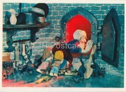 Hansel And Gretel By Brothers Grimm - Stove - Cats - Dolls - Fairy Tale - 1975 - Russia USSR - Unused - Fiabe, Racconti Popolari & Leggende