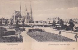 2606255's Hertogenbosch, Havenbrug Met Leonardus Kerk Rond 1900. (minuscule Vouwen In De Hoeken) - 's-Hertogenbosch