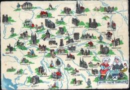 Barré Dayez, ILLUSTRATEUR , Carte N°1259 F, Anjou Maine Touraine - Other Illustrators