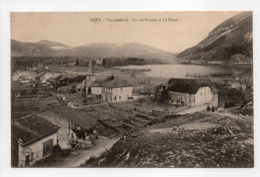 - CPA PORT (01) - Vue Générale - Lac De Nantua Et La Cluse - Photo Vialatte - - Andere Gemeenten