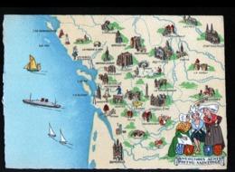 Barré Dayez, ILLUSTRATEUR , Carte N°1259 H, Angoumois Aunis Poitou Saintonge - Other Illustrators