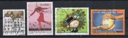 Autriche 2003 : Timbres Yvert & Tellier N° 2247 - 2268 - 2276 - 2282 Et 2285 Oblitérés. - 1945-.... 2ème République