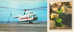 Neftyanye Kamni - Neft Daslari - Helicopter - Oil Plant - 1975 - Azerbaijan USSR - Unused - Azerbaïjan