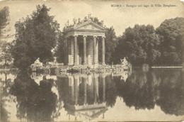 Roma - Templo Sul Lago Di Villa Borghese - Precurseur - Parks & Gardens