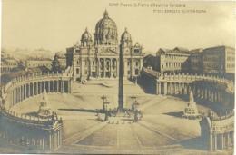 Roma - Piazza S. Pietro E Basilica Vaticana - San Pietro