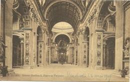 Roma - Interno Basilica Di S. Pietro In Vaticano - San Pietro