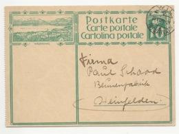 """Schweiz Suisse 1929: Bild-PK CPI """"WÄDENSWIL"""" Mit Stempel WIL 27.VI.29 (ST.GALLEN) Nach Weinfelden (Thurgau) - Interi Postali"""
