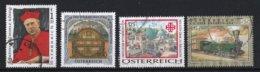 Autriche 2004 : Timbres Yvert & Tellier N° 2306 - 2317 - 2319 - 2321 - 2328 Et 2339 Oblitérés. - 1945-.... 2ème République