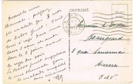 FLIER PARIS 51 PP SUR CPA PUBLICITAIRE - Marcofilia (sobres)