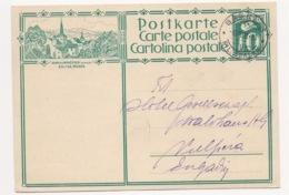 """SCHWEIZ SUISSE 1928: CP 10c  Bild-PK """"ROMAINMÔTIER (VAUD) EGLISE, MUSÉE"""" Mit O BASEL 6.VIII.28 Nach Vulpera (Engadin) - Eglises Et Cathédrales"""