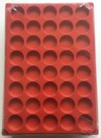 LOT 10 BOX - COLLECTEURS - PLATEAUX PLASTIQUE POUR CAPSULES MUSELETS - 40 CASES RONDES - SANS COUVERCLE - Unclassified