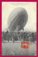CPA Transports - Lunéville - Le Zeppelin IV Vu De L'avant - Airships