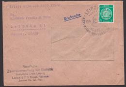 Karl-Marx-Universität Leipzig SoSt. 550 Jahre Universität, Ds-Dienstpostbrief, Staatliche Zentralverw. Für Statistik - [6] Democratic Republic