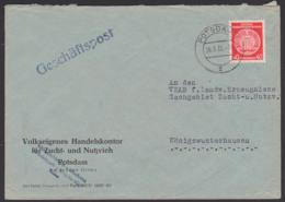 Potsdam Geschäftspost Dienstpost-Doppelbrief 28.3.60, VE Handelskontor Zucht- U. Nutzvieh - [6] Democratic Republic
